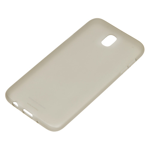 Чехол (клип-кейс) SAMSUNG Jelly Cover, для Samsung Galaxy J7 (2017), золотистый [ef-aj730tfegru] чехол для смартфона samsung для galaxy j7 2016 slim cover прозрачный ef aj710ctegru ef aj710ctegru