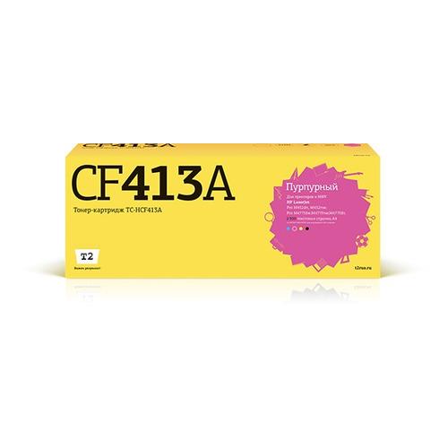 Фото - Картридж T2 TC-HCF413A, пурпурный картридж t2 tc hcf403x пурпурный