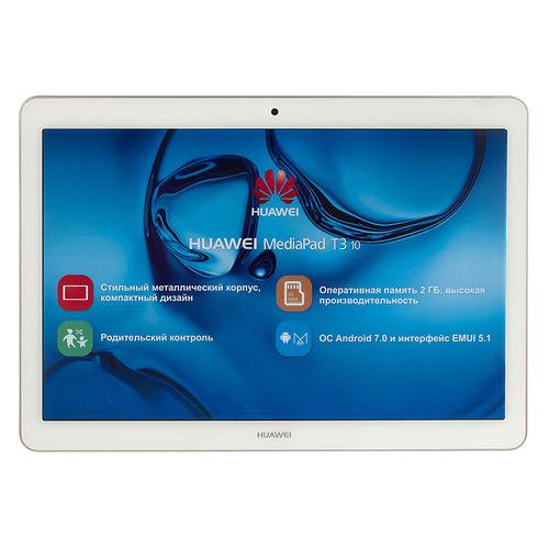 Планшет HUAWEI MediaPad T3 10, 2GB, 16GB, 3G, 4G, Android 7.0 золотистый [53010pbb] смартфон doogee x50l золотистый 5 16 гб lte wi fi gps 3g bluetooth