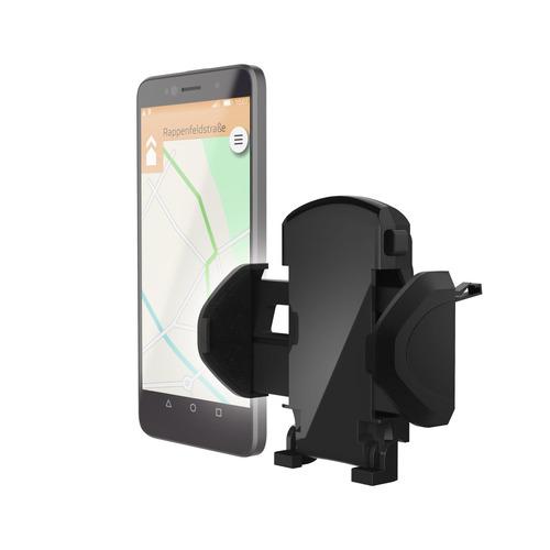 Держатель Hama H-178250 черный для смартфонов (00178250) держатель hama h 178250 для телефона универсальный шириной от 45 до 90 мм черный