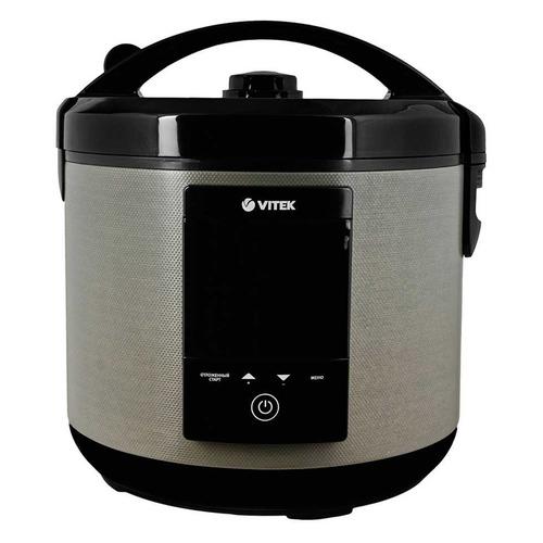 купить Мультиварка VITEK VT-4271, 900Вт, бежевый/черный [4271-vt-01] дешево