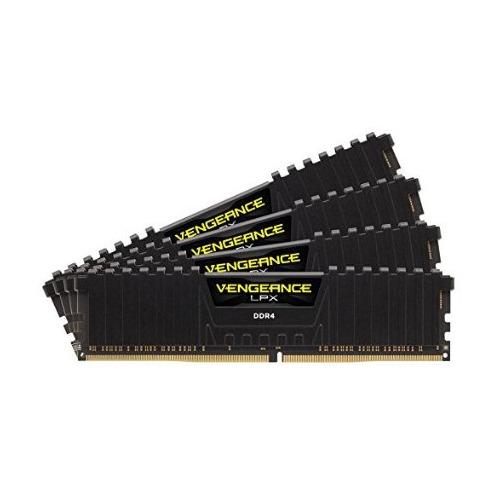 Модуль памяти CORSAIR Vengeance LPX CMK64GX4M4C3000C15 DDR4 - 4x 16ГБ 3000, DIMM, Ret CMK64GX4M4C3000C15 по цене 24 590
