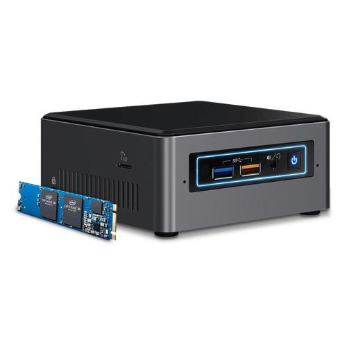 Платформа INTEL Optane BOXNUC7i3BNHX1 [boxnuc7i3bnhx1 958546] цена и фото