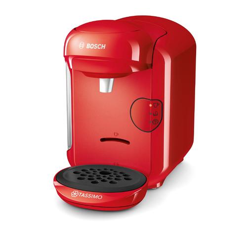 Капсульная кофеварка BOSCH Tassimo TAS1403, 1300Вт, цвет: красный цена и фото