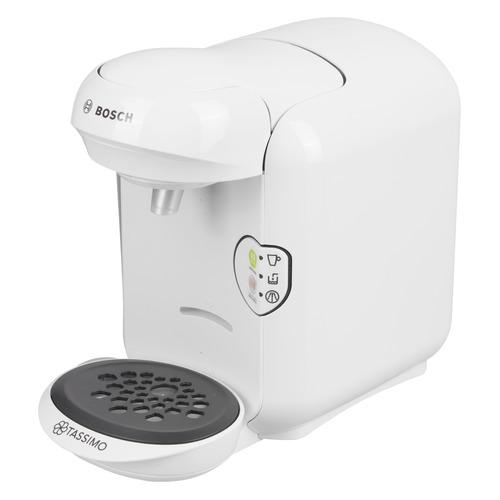 Капсульная кофеварка BOSCH Tassimo TAS1404, 1300Вт, цвет: белый цена и фото