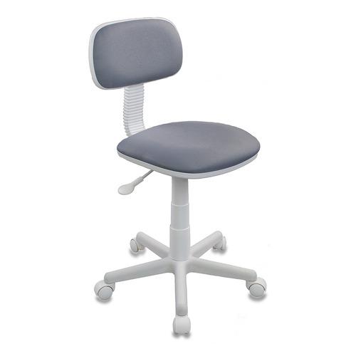Кресло детское БЮРОКРАТ CH-W201NX, на колесиках, ткань, серый [ch-w201nx/15-48] цены онлайн
