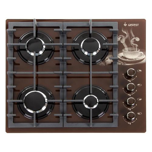 лучшая цена Варочная панель GEFEST СГ СВН 2230 К17, независимая, коричневый