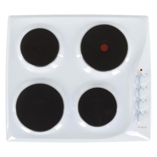 Варочная панель GEFEST ЭС В СВН 3210, электрическая, независимая, белый цена и фото