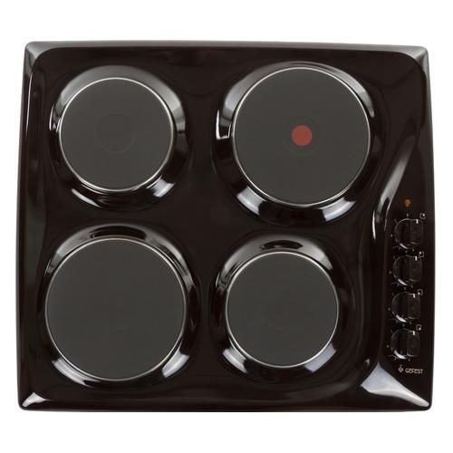 Варочная панель GEFEST ЭС В СВН 3210 К17, электрическая, независимая, коричневый цена и фото
