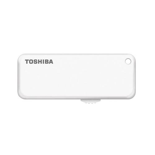 Фото - Флешка USB TOSHIBA U-Drive U203 64Гб, USB2.0, белый [thn-u203w0640e4] кеды мужские vans ua sk8 mid цвет белый va3wm3vp3 размер 9 5 43