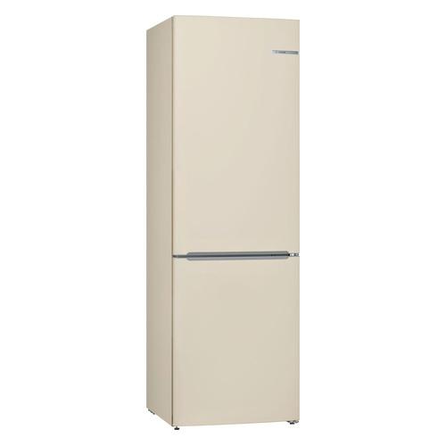 Холодильник BOSCH KGV36XK2AR, двухкамерный, бежевый холодильник bosch kgn39xg34r двухкамерный золотистый