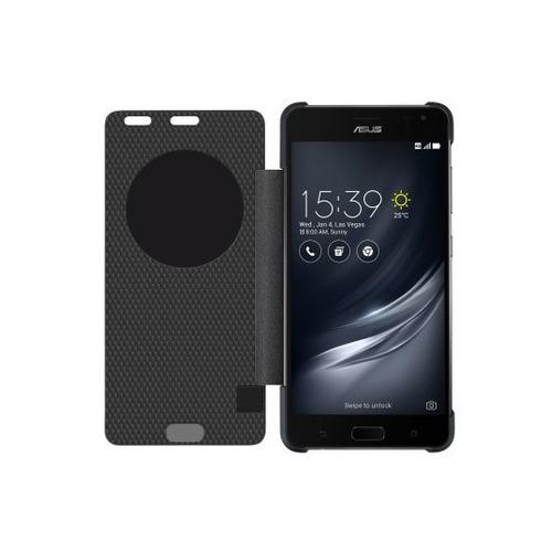 Чехол (флип-кейс) ASUS View Flip Cover, для Asus ZenFone ZS571KL, черный [90ac02h0-bcv002]