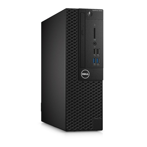 Компьютер DELL Optiplex 3050, Intel Core i3 7100, DDR4 4Гб, 500Гб,  HD Graphics 630, DVD-RW, Windows  Professional, черный [-0412]