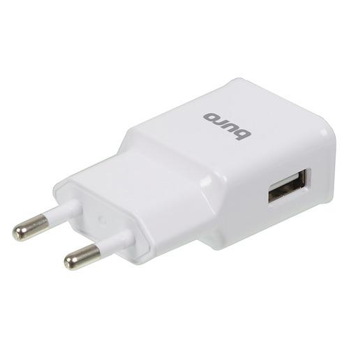 Сетевое зарядное устройство BURO TJ-248W QC 3.0, USB, 2.4A, белый зарядное устройство для мобильных телефонов ipad mini usb