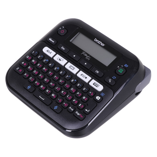 Принтер Brother P-touch PT-D210 стационарный черный