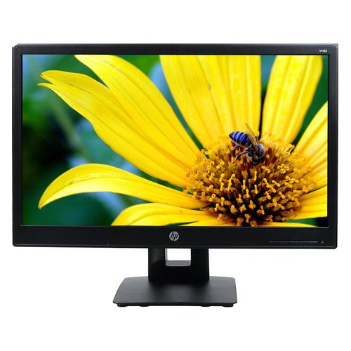 """Монитор HP VH22 21.5"""", черный [x0n05aa]  - купить со скидкой"""