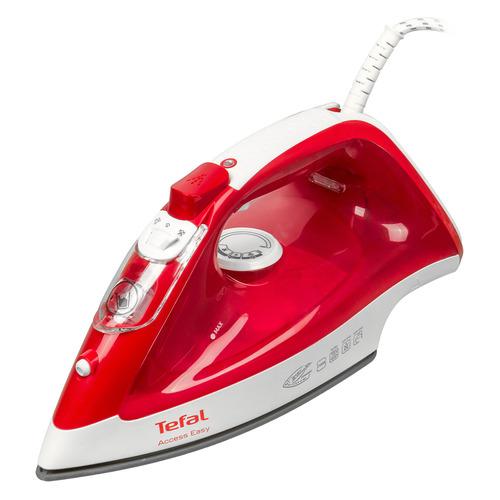 Утюг TEFAL FV1543E0, 2290Вт, красный/ белый [1830006329] FV1543E0 по цене 2 130