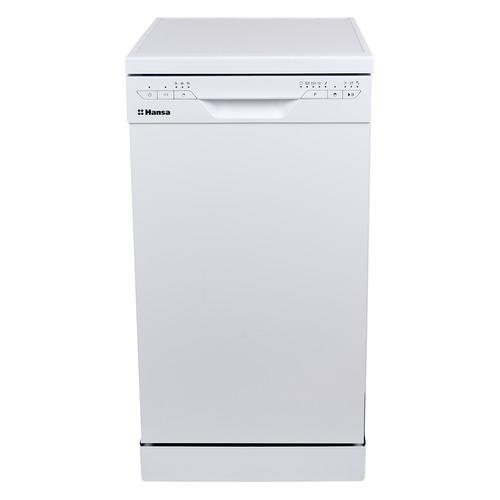 Посудомоечная машина HANSA ZWM475WEH, узкая, белая встраиваемая посудомоечная машина hansa zim 414 lh