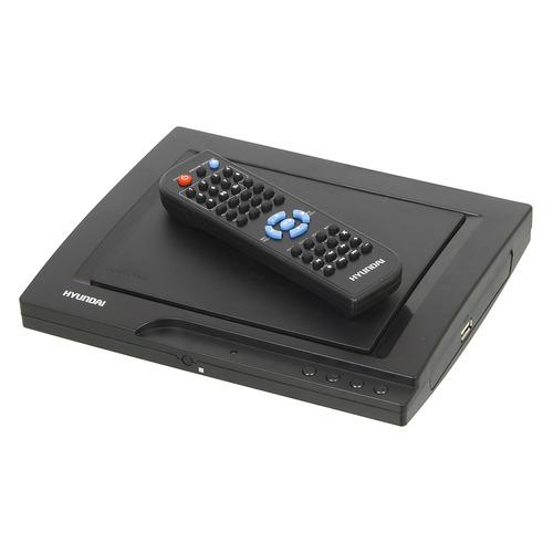 Фото - DVD-плеер HYUNDAI H-DVD140, черный dvd blu ray