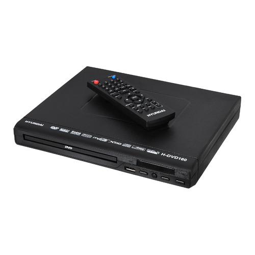 Фото - DVD-плеер HYUNDAI H-DVD160, черный dvd blu ray