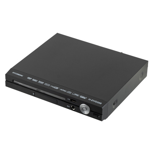 DVD-плеер HYUNDAI H-DVD200, черный smal a6 hifi digital amplifier 50wx2 dac digital 110v 220v native dsd512 usb optical coaxial lp player cd analog input