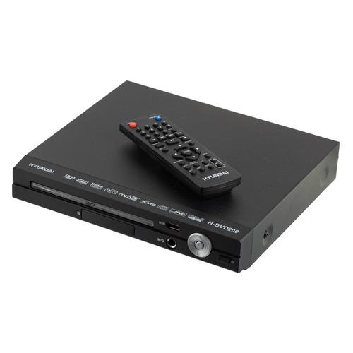 цена на DVD-плеер HYUNDAI H-DVD200, черный