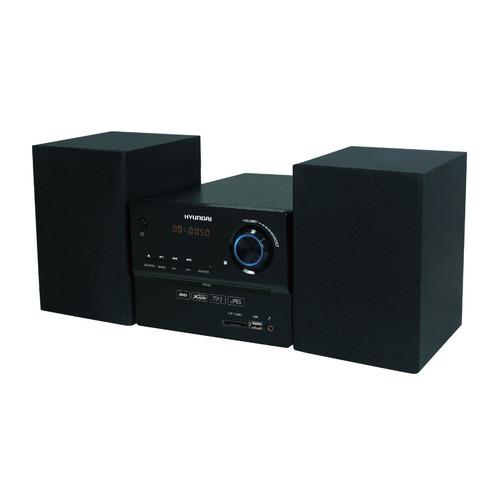 цена на Музыкальный центр HYUNDAI H-MS200, черный