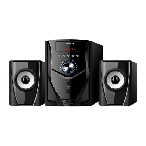 лучшая цена Музыкальный центр HYUNDAI H-HA220, черный