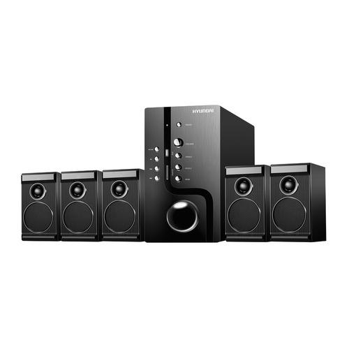 лучшая цена Музыкальный центр HYUNDAI H-HA520, черный