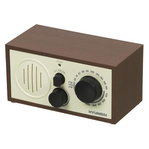Радиоприемник HYUNDAI H-SRS120, вишня