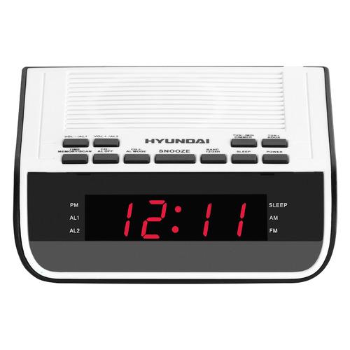 цена на Радиобудильник HYUNDAI H-RCL100, белый