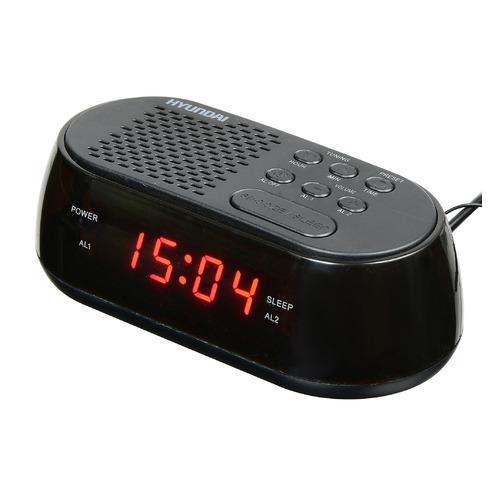 цена на Радиобудильник HYUNDAI H-RCL210, черный