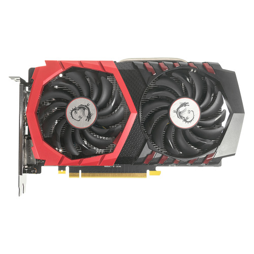 цена на Видеокарта MSI nVidia GeForce GTX 1050TI , GTX 1050 TI GAMING 4G, 4ГБ, GDDR5, OC, Ret