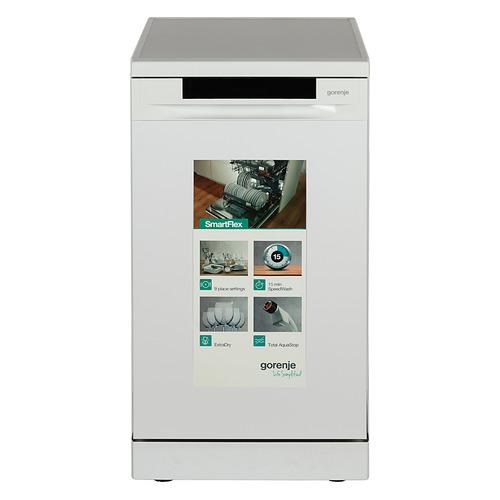 лучшая цена Посудомоечная машина GORENJE GS53110W, узкая, белая
