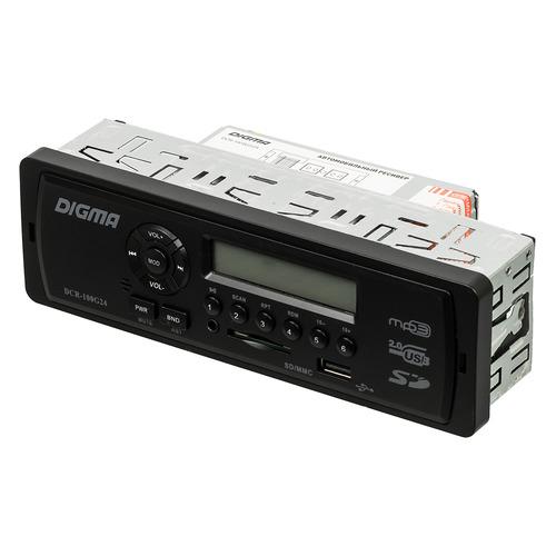 Автомагнитола DIGMA DCR-100G24, USB, SD/MMC все цены