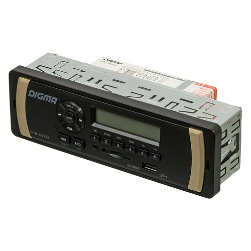 Автомагнитола DIGMA DCR-110B24, USB, SD/MMC все цены