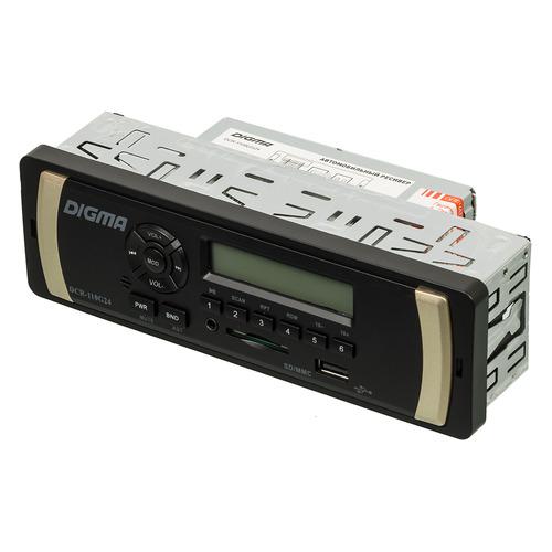 цены Автомагнитола DIGMA DCR-110G24, USB, SD/MMC