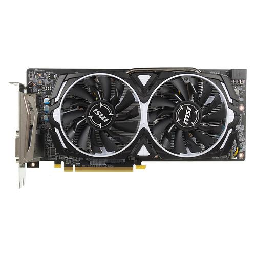 Видеокарта MSI AMD Radeon RX 580 , RX 580 ARMOR, 8Гб, GDDR5, Ret [rx 580 armor 8g]