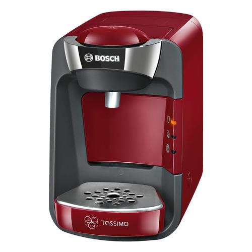 Капсульная кофеварка BOSCH Tassimo TAS3203, 1300Вт, цвет: красный цена и фото