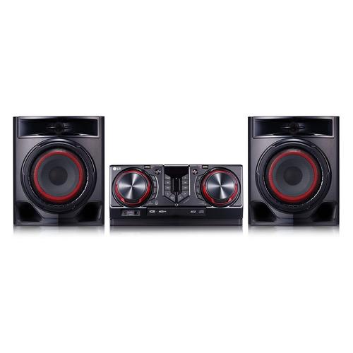 Минисистема LG CJ44 черный 720Вт/CD/CDRW/FM/USB/BT lg cm9750 black минисистема cd