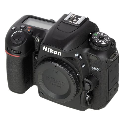Фото - Зеркальный фотоаппарат NIKON D7500 body, черный видео