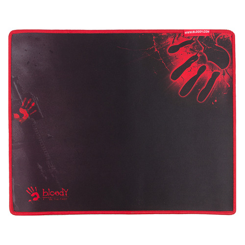 Коврик для мыши A4 Bloody B-081S, черный/рисунок игровой коврик для мыши a4tech bloody b 081s черно красный