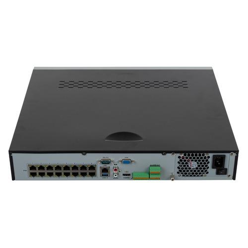 Видеорегистратор HIKVISION DS-7716NI-K4/16P рекордер для ip видеонаблюдения hikvision ds 7716ni k4