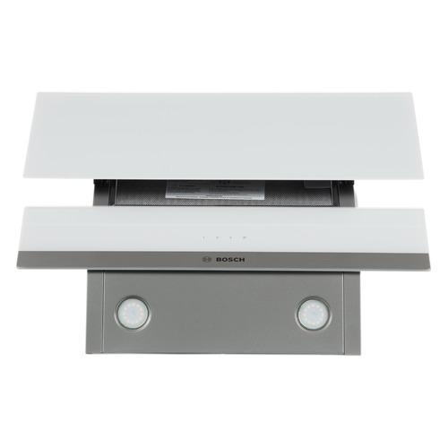 Вытяжка каминная Bosch DWK065G20R белый управление: сенсорное (1 мотор) цена