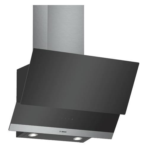 Вытяжка каминная Bosch DWK065G60R черный управление: сенсорное (1 мотор) цена