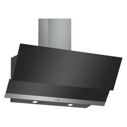 Вытяжка каминная Bosch DWK095G60R черный управление: сенсорное (1 мотор) цена