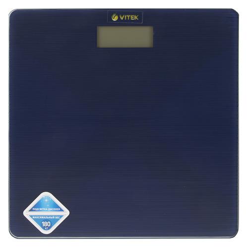 Напольные весы VITEK VT-8062 B, до 180кг, цвет: синий [8062-vt-01] цена