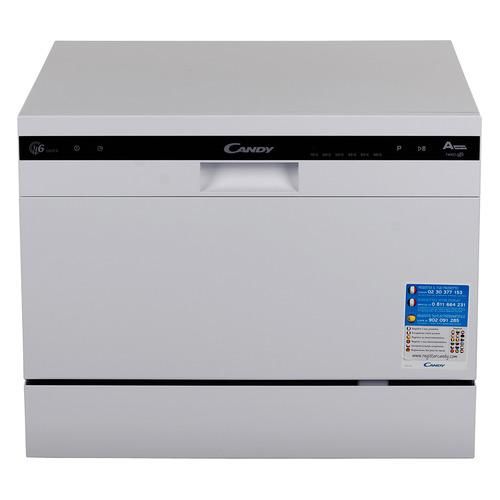 Посудомоечная машина CANDY CDCP 6/E-07, компактная, белая [32000978] посудомоечная машина hyundai dt205 компактная белая