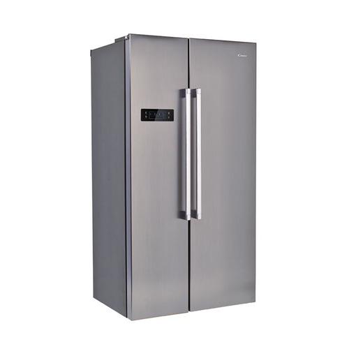 Холодильник CANDY CXSN 171 IXH, двухкамерный, нержавеющая сталь [34002100] встраиваемый холодильник side by side kuppersbusch kei 9750 0 2 t сталь