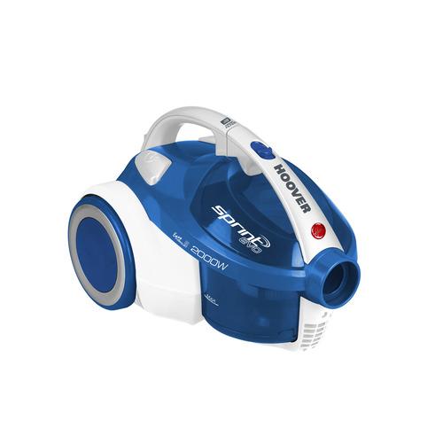 Пылесос HOOVER TSBE 2002 011, 2000Вт, синий/белый цена и фото